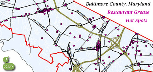 Baltimore County Grease Map