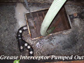 grease interceptor pumping