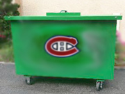 waste vegetable oil bin
